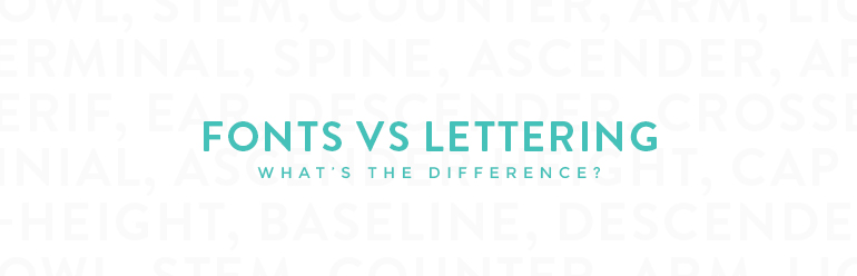Fonts and lettering kory woodard Difference between calligraphy and typography