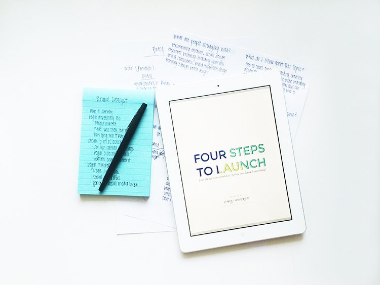 4 things to do before you launch anything