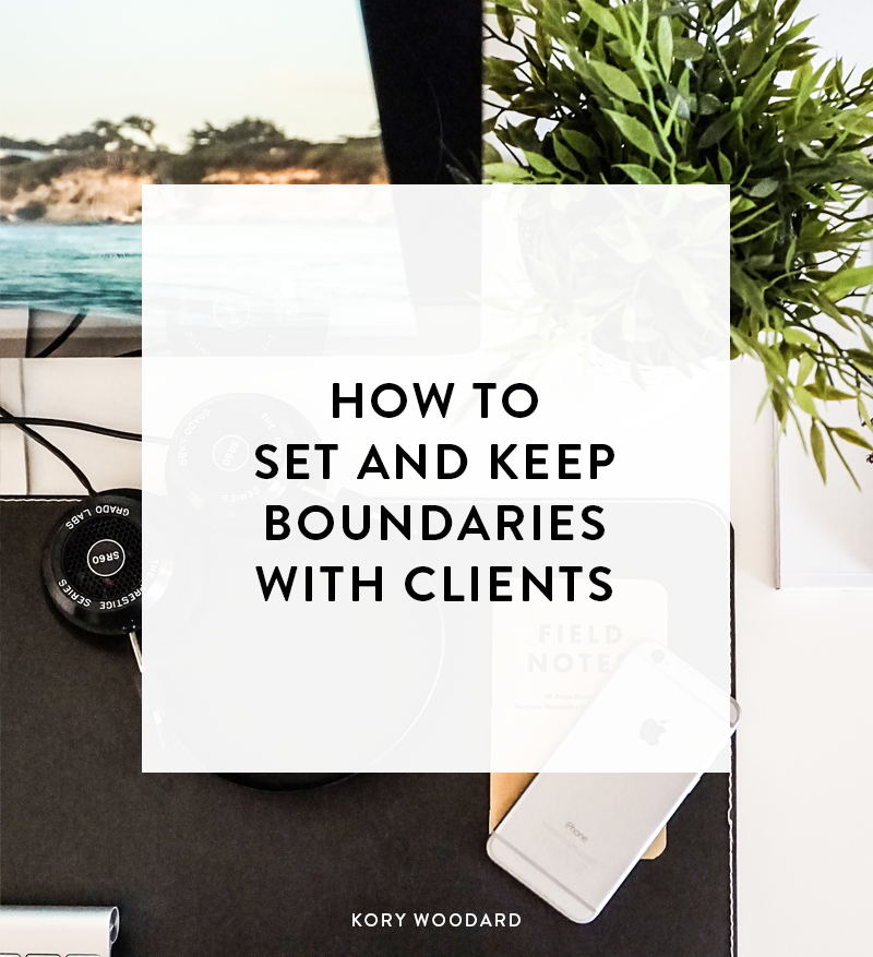 One thing that can be tough whether you're just getting started with freelancing or if you've been doing it for a while already is setting boundaries with clients. However, it's better for the project and your sanity if you learn when to draw the line.