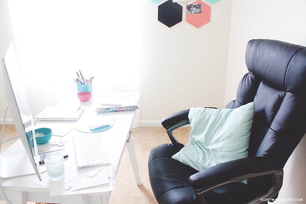 My Office - A Home Update | Kory Woodard