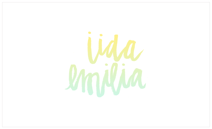 branding for iida emilia | by kory woodard