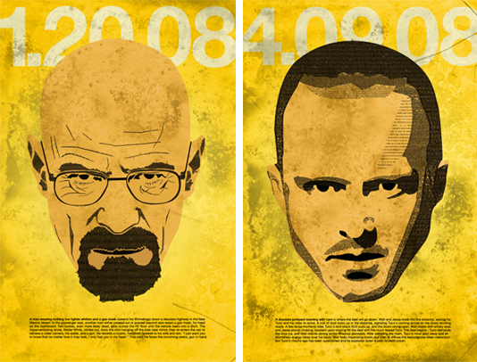 Inspiration breaking bad posters kory woodard for Bad inspirationen
