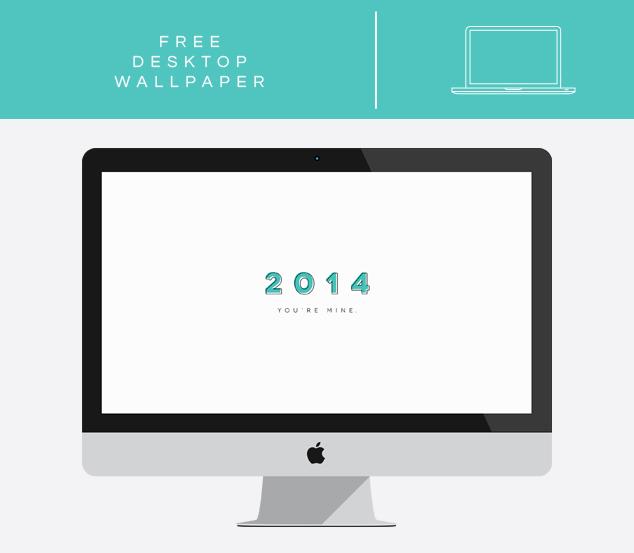 freebie / january desktop wallpaper