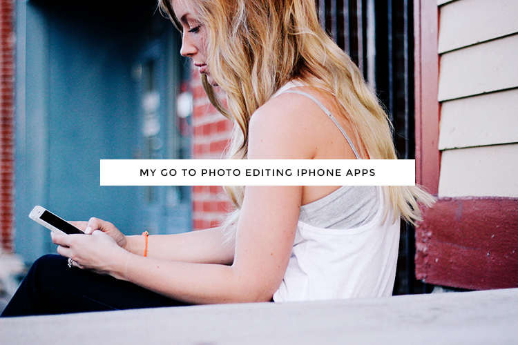 go to photo editing iphone apps | from kory woodard