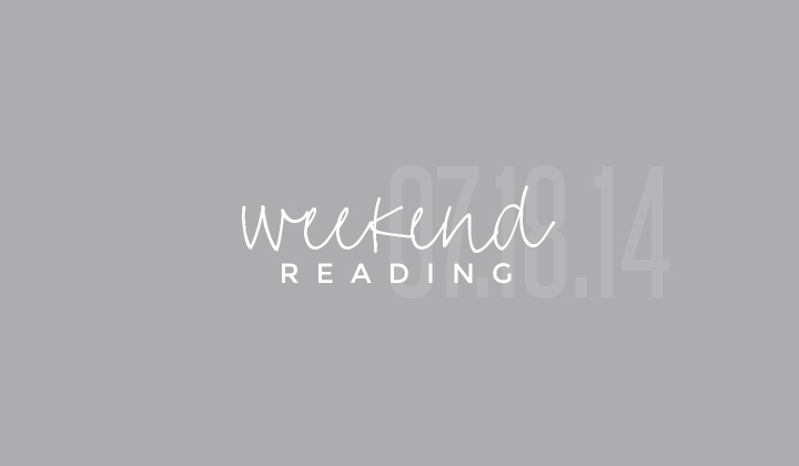 weekend reading | fun links for you to catch up on