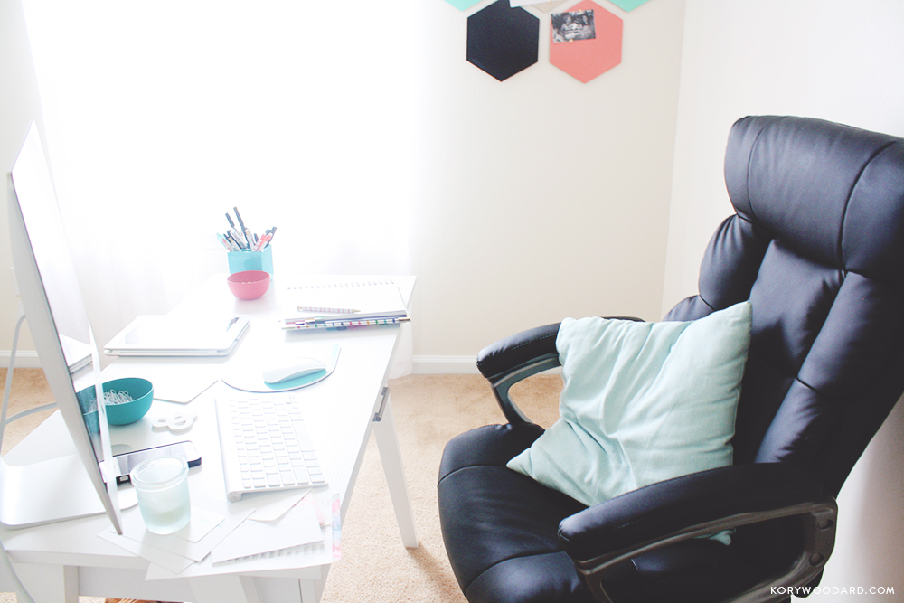 My Office - A Home Update | Kory Woodard