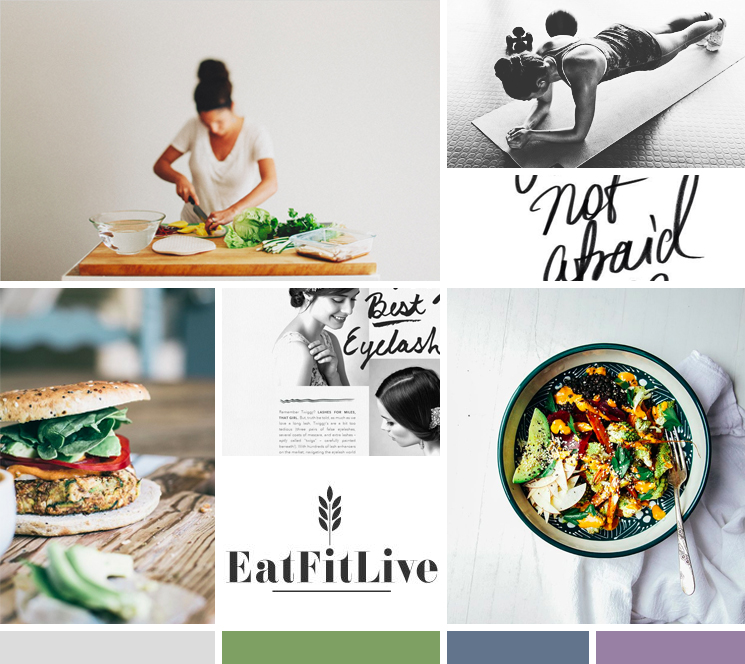 moodboard : health + nutrition | by kory woodard
