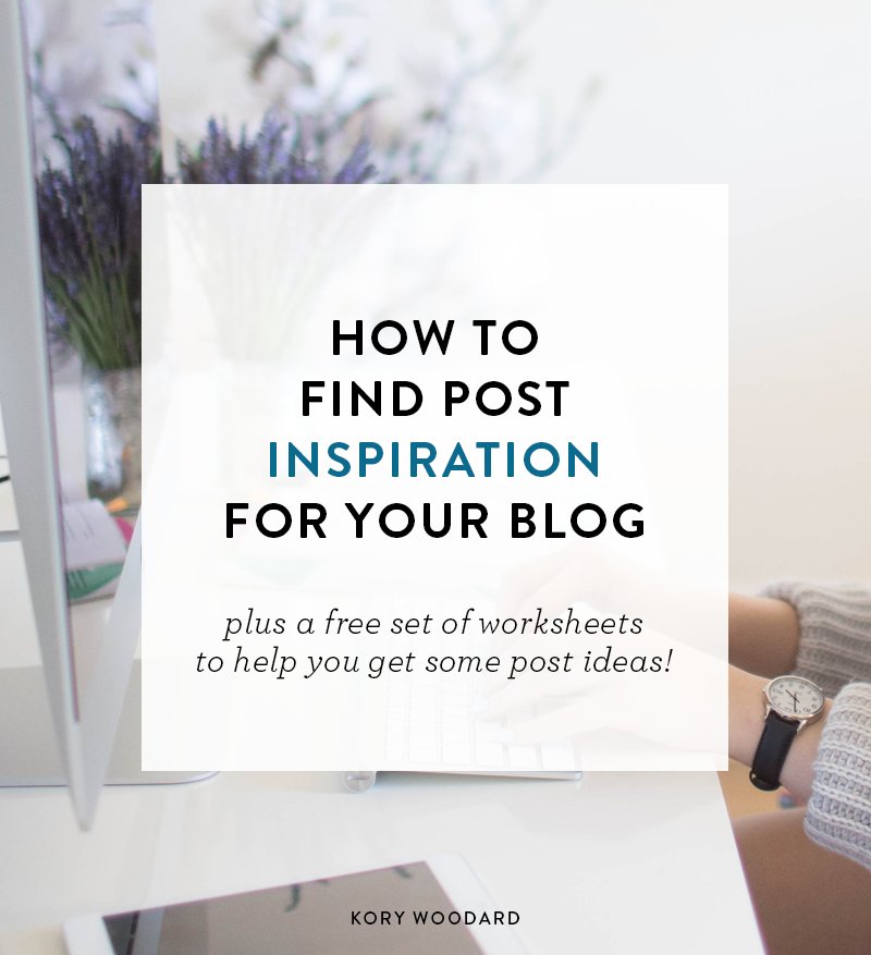 How to Find Inspiration For Your Blog