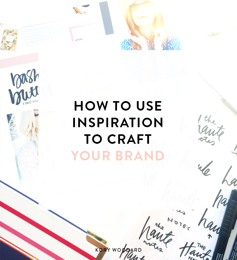 The first step I take with all of my clients is inspiration because it can do so much when you're working on crafting your brand. Many people aren't really sure what to do with everything they like or moodboards, so this selection is for you.