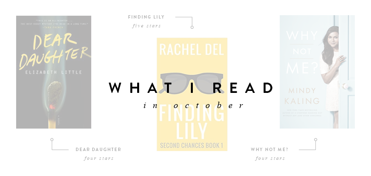 what I read in October