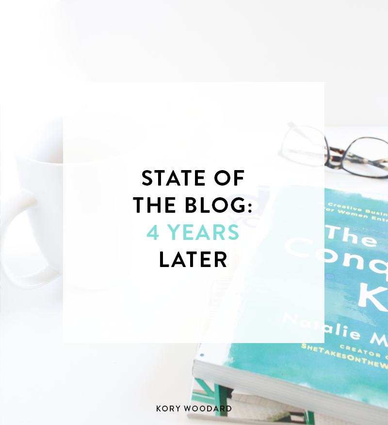 State of The Blog: 4 Years Later