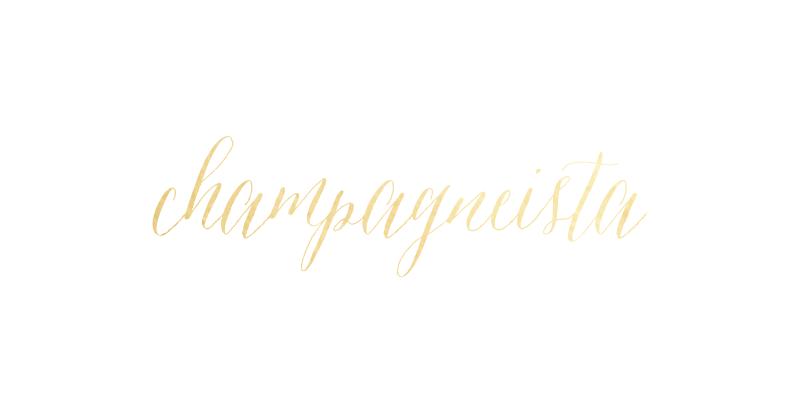 Champagneista logo by Kory Woodard
